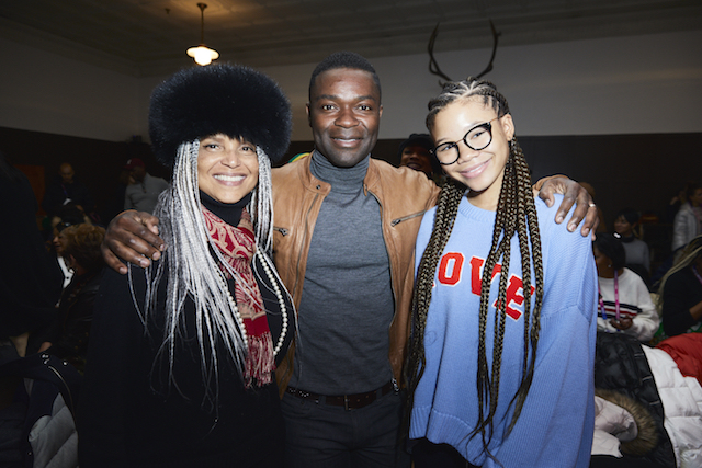 Victoria Rowell, David Oyelowo and Storm Reid