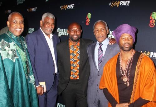 Ayoku Babu, Richard Gant, Jimmy Jean-Louis, Danny Glover & Darrin Henson