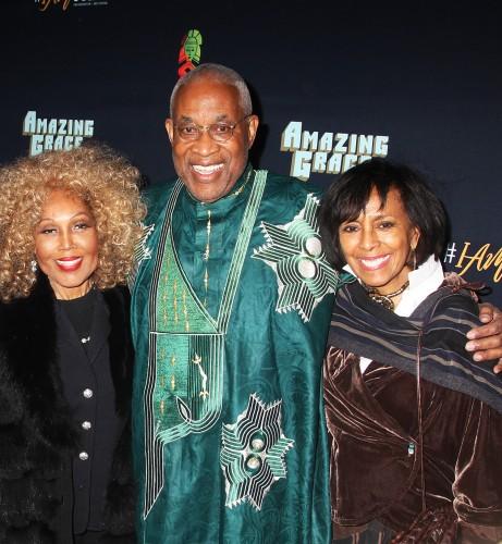 Janet DuBois, Ayoku Babu and Sheila Frazier