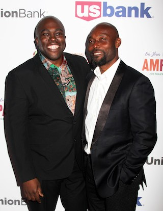 Julius Amedume and Jimmy Jean-Louis
