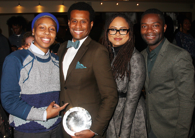 L-r Lena Waithe, Tendo Nagenda, Ava DuVernay and David Oyelowo