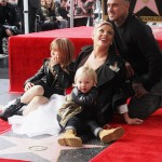 Pink and her family, husband Carey, kids Jameson Moon and Willow Sage,