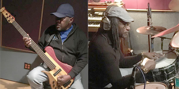 The musical twin, Robbie Sheakspeare and Sly Dunbar. Photo courtesy Stephen Cooper