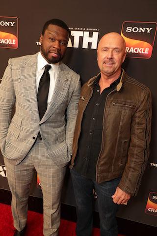 """Executive producers Curtis """"50 Cent"""" Jackson and Joe Halpin"""