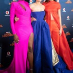 Lashana Lynch, Brie Larson and Gemma Chan