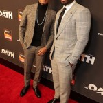 "Series star Cory Hardrict and executive producer Curtis ""50 Cent"" Jackson"