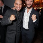 Series stars J.J. Soria and Ryan Kwanten