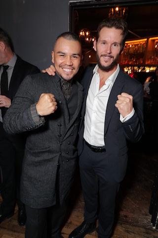 Series stars J.J. Soria and Ryan Kwanten