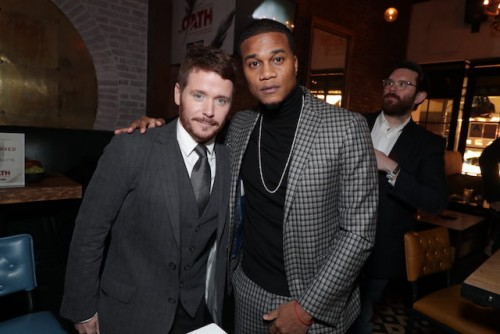 Series stars Kevin Connolly (also a director) and Cory Hardrict