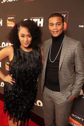 Tia Mowry and series star Cory Hardrict