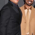 Vin Diesel and Michael B Jordan