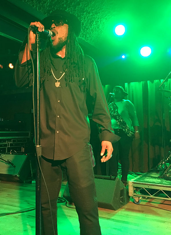 Andrew Bees performs with Black Uhuru in Solana Beach, California | Courtesy of Stephen A. Cooper