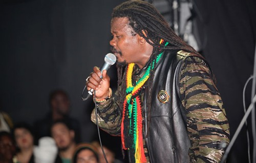 Reggae Grammy nominee Luciano at the DubClub in LA - Photo by Love Zone