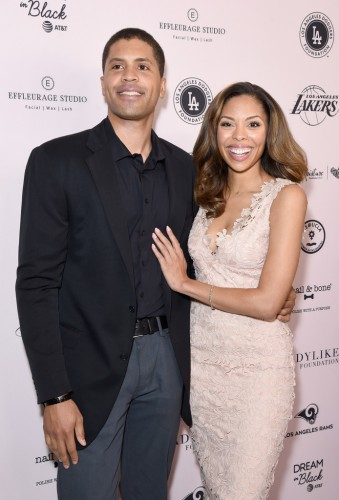 Aaron Burgess (L) and Ciera Payton