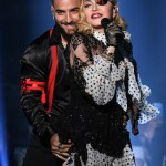 L-R) Maluma and Madonna