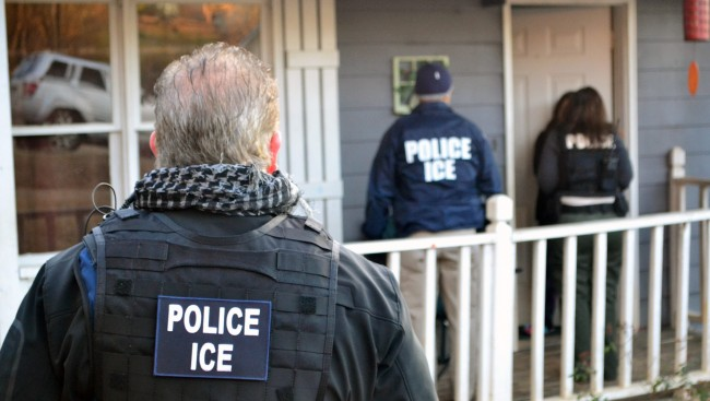Federal immigration authorities