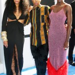 L-r - Melina Matsoukas, Lena Waithe & Jodie Turner-Smith