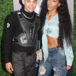 Roshon Fegan and  Amina Buddafly