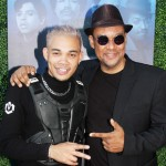 Roshon Fegan and father
