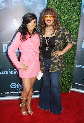 Tyler Whitley and Kym Whitley