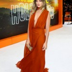 Margot Robbie attends the UK Premiere of Once Upon A Time...In Hollywood at Odeon Luxe Leicester Square on July 30, 2019 in London, England