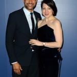 L-R) Keegan-Michael Key and Elisa Pugliese