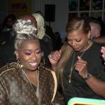 Missy Elliott and Queen Latifah