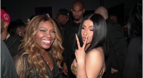 Mona Scott-Young and Cardi B