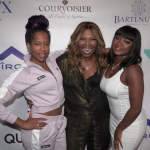 Mona Scott-Young with Regina King and Naturi Naughton (