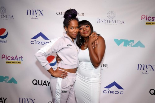 Regina King and Naturi Naughton