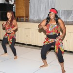 Entertainment included a traditional Congolese dance