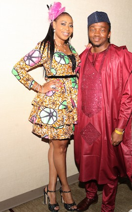 L-r  Monalisa Okojie and Dr Emile Kue - Photo by Ade James
