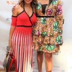 L- r Monolisa and Chante on the red carpet