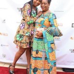 Monalisa Okojie with mom