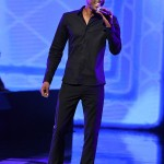 Tevin Campbell performs