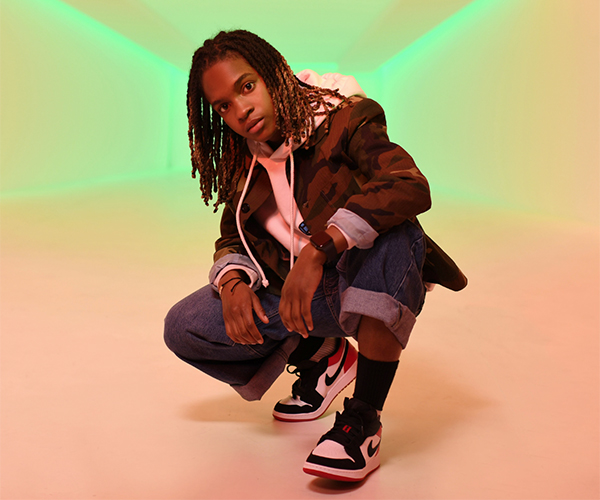 Jamaican rising reggae star 'Koffee'