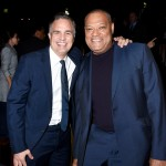 (L-R) Mark Ruffalo and Laurence Fishburne