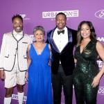 Billy Porter, Cathy Hughes, Chris Tucker and Michelle Rice
