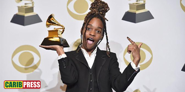 19 years old reggae artist Koffee