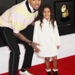 Chris Brown and daughter Royalty Brown