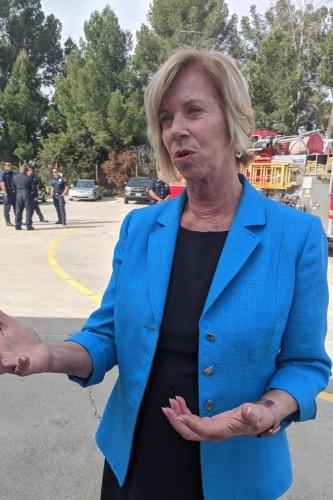 Los Angeles County Supervisor Janice Hahn