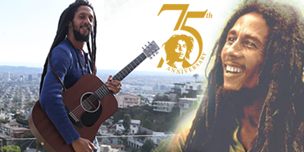Julian Marley in the Hollywood hills, California. Photo by Lyndon Johnson/CaribPress © 2020