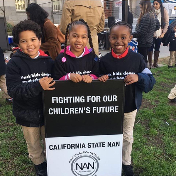 National Action Network-Sacramento Facebook page.Young students attended the opening rally of the NAN conf. Feb 5, at the State Capitol