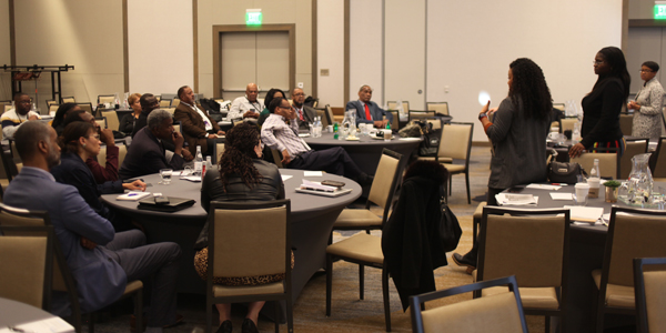 Black-owned and operated media partners across California attended CNPA in Sacramento. Photo by L. Johnson / CaribPress