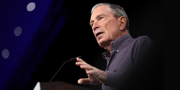 2020 Democratic Presidential Candidate - Michael Bloomberg