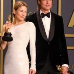 Renee Zellweger and Brad Pitt