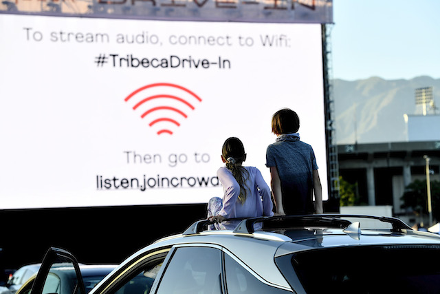 Tribeca Drive-In At The Rose Bowl, Presented By Tribeca Enterprises, In Partnership With IMAX, AT&T And Walmart