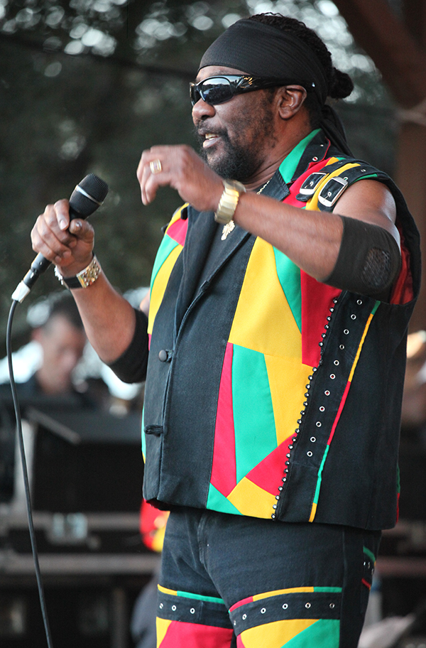 Toots Hibbert last performance in Los Angles at the 2018 Reggae in the Mountain. Photo by L. Johnson/CaribPress. All Rights Reserved © 2020