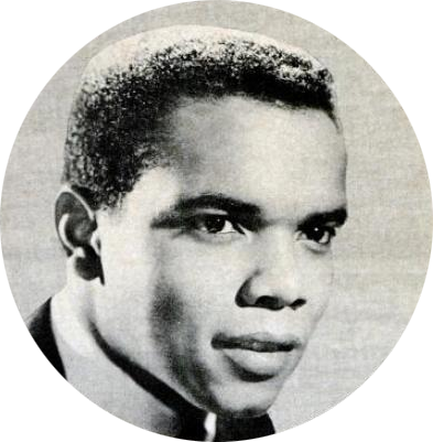 Singer Johnny Nash in 1965.