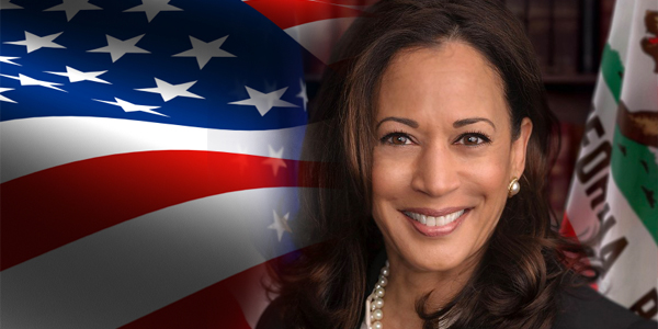 Vice President Kamala Harris, first female and Black vice president of the USA